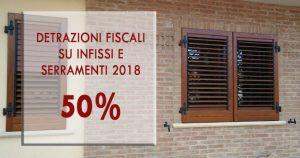 detrazione fiscale 2018